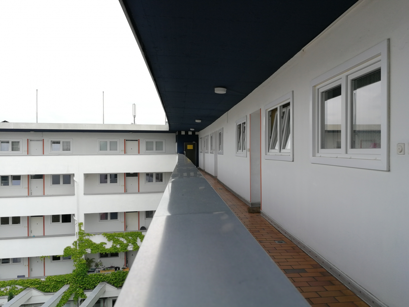 Eingang  Appartements